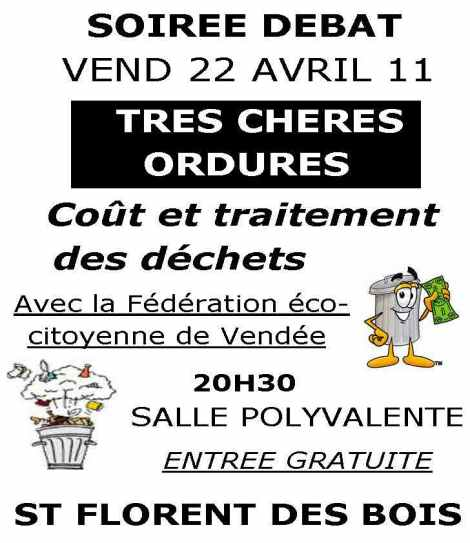SOIREE DEBATles ordures
