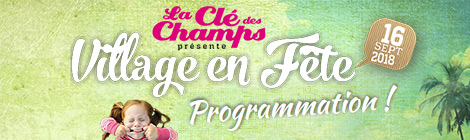 "Programmation ""Village en Fête 2018"""