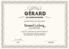 Bernard LECLERCQ, maire de Château-Guibert