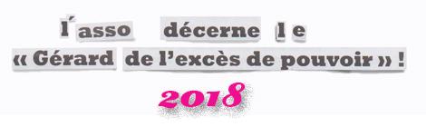 Bernard LECLERCQ, Château-Guibert Le Gégé de l'excès de pouvoir 2018