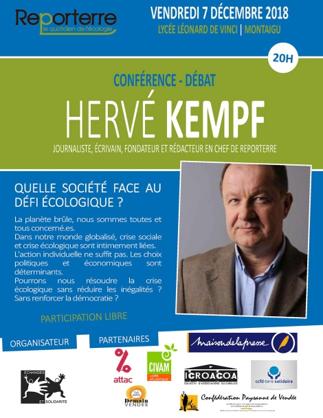Débat avec Hervé Kempf