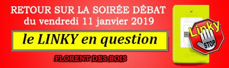 Retour soirée débat linky du vendredi 11 janvier 2019