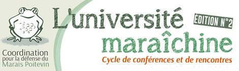 Université Maraîchine programme 2020
