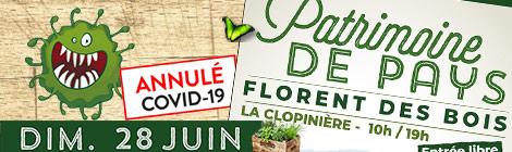 Journée patrimoine de pays - La Clé Des Champs 2020 annulée